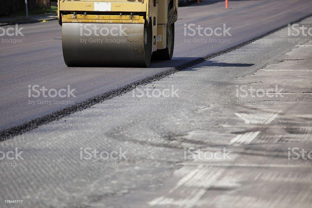 \'Street Repair in Vancouver, Canada.\'
