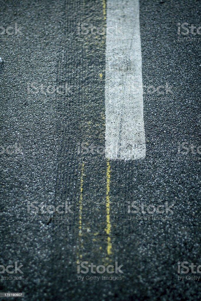 asphalt road - close up royalty-free stock photo