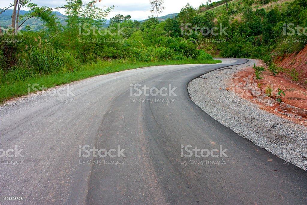 asphalt road stock photo