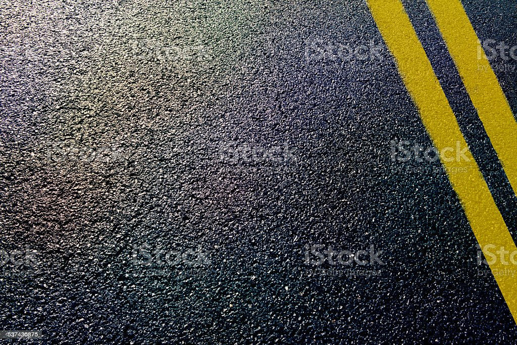 asphalt road stock photo