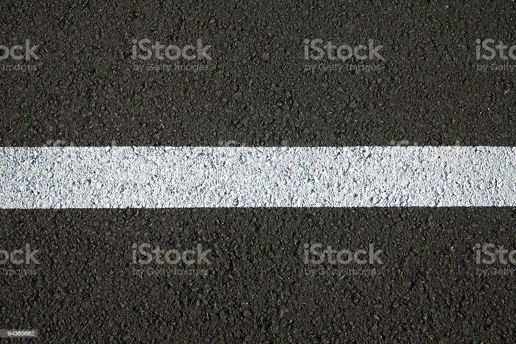 Asphalt stripe royalty-free stock photo