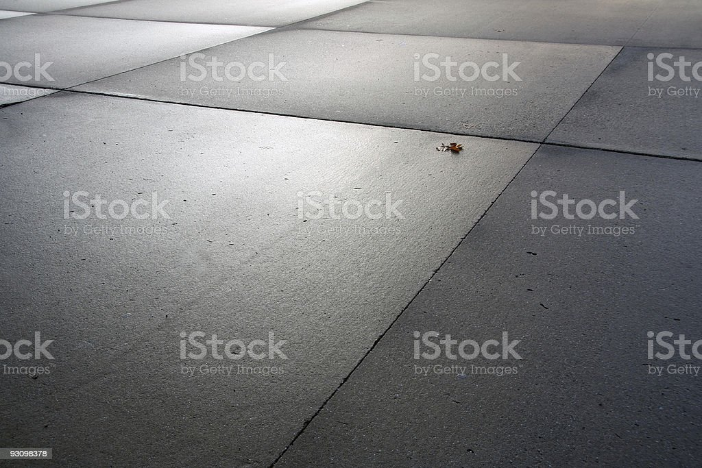 asphalt surface with reflecting soft light - backround stock photo