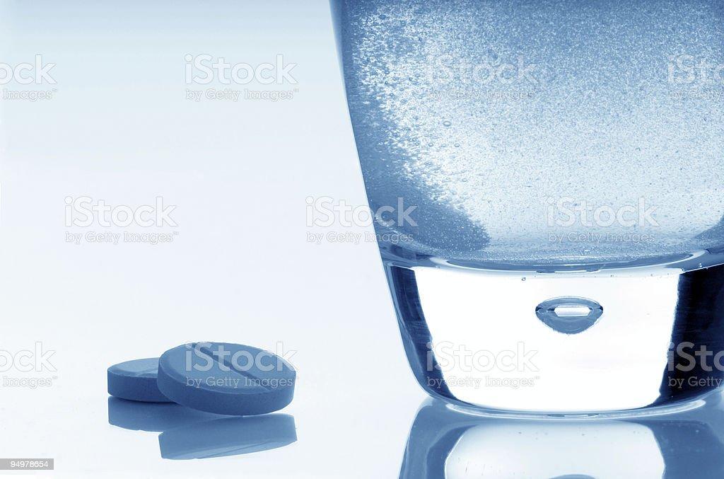 aspirin close-up stock photo