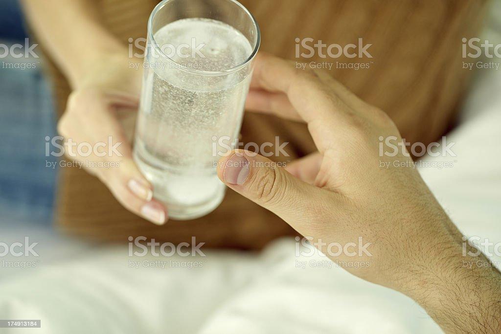 Aspirin for headache royalty-free stock photo