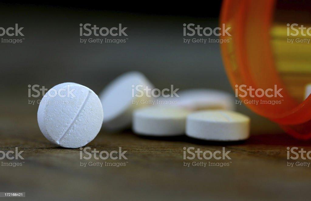 Aspirin stock photo