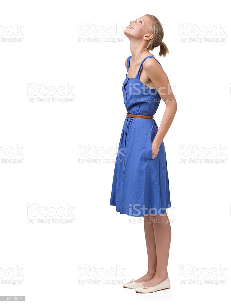 Aspiring to great heights stock photo