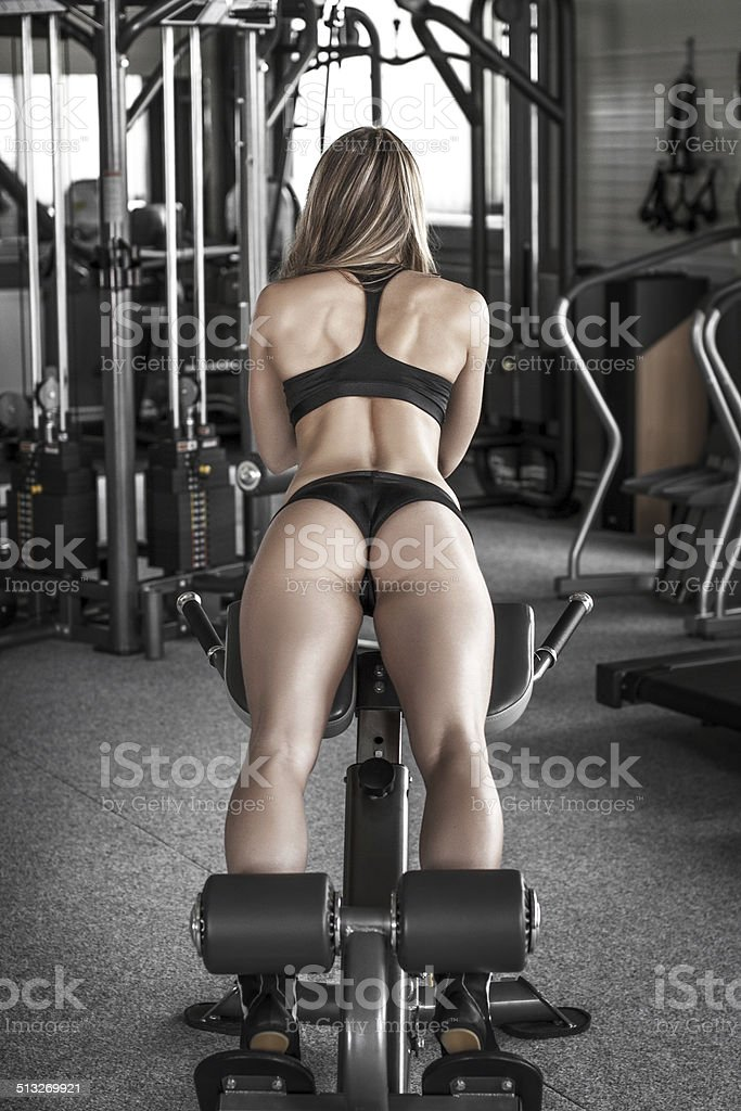 Ass workout royalty-free stock photo