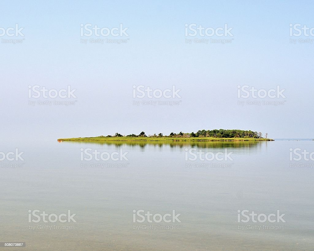 Assateague Great Egging Island stock photo