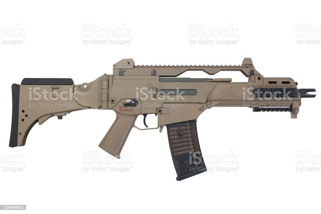assault rifle G36 stock photo