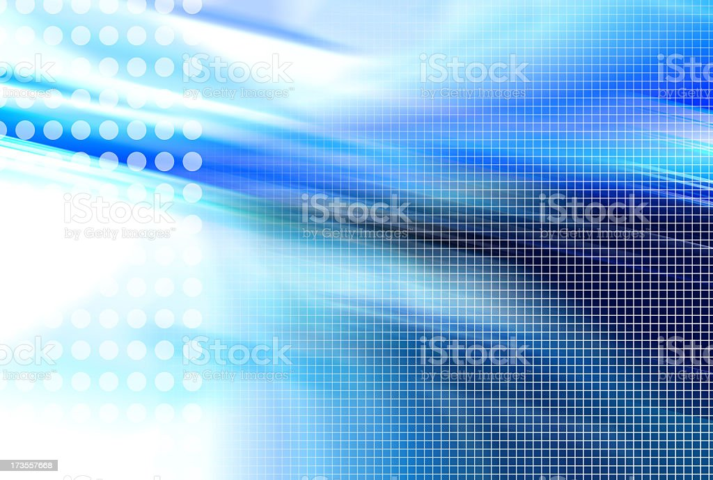 Assemble blue 01 royalty-free stock photo