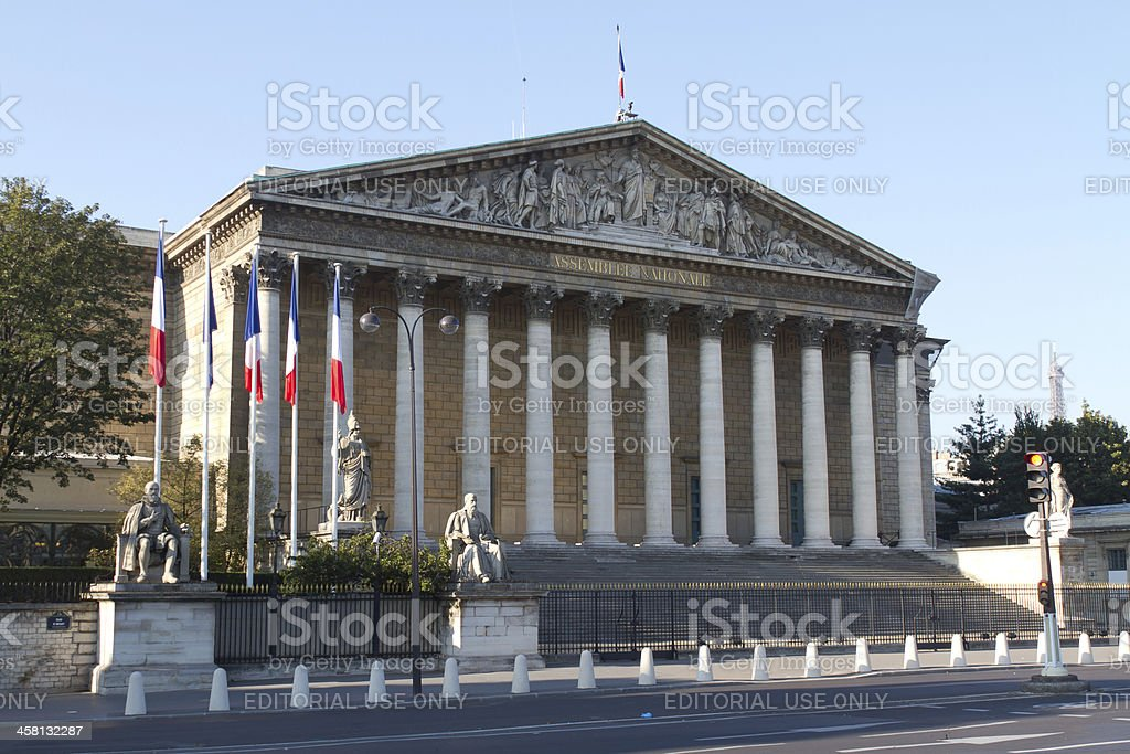 Assemblee Nationale stock photo