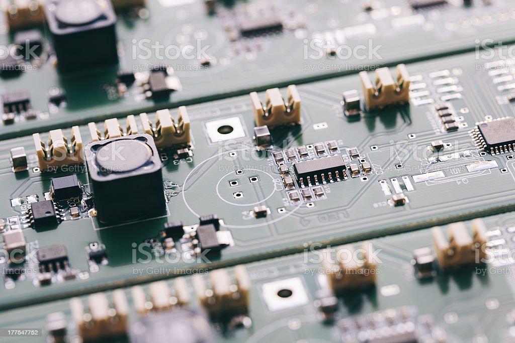 Assembling Line - Technology stock photo