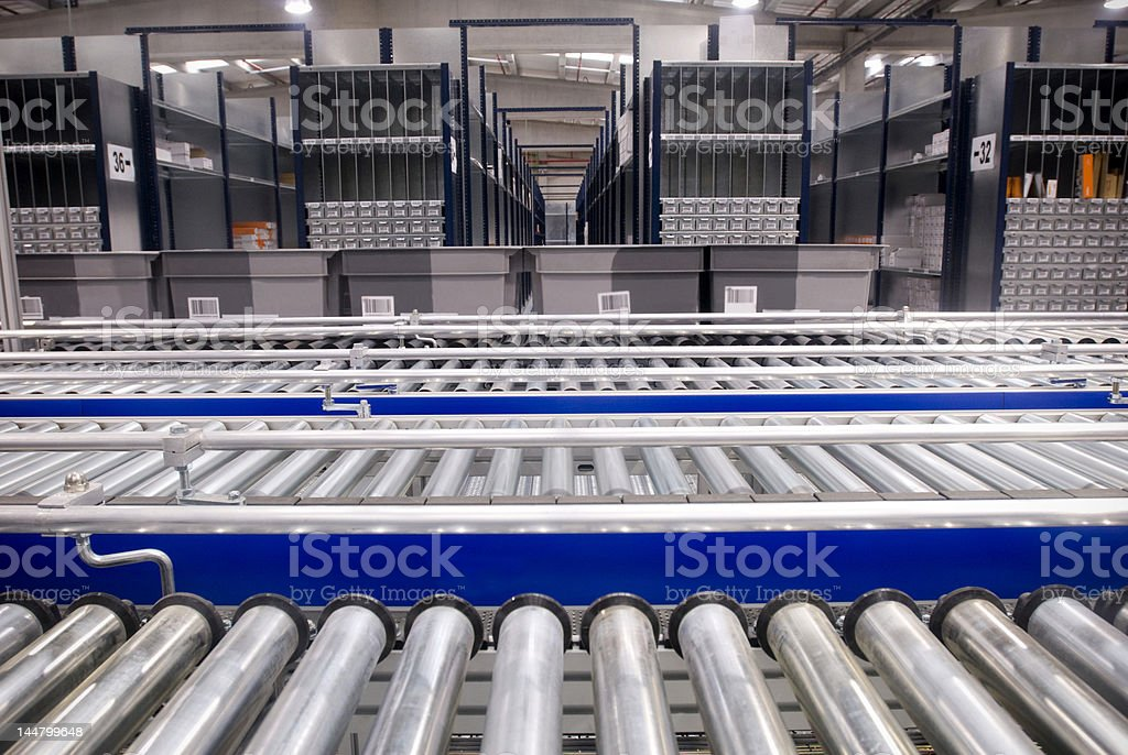 assembly line stock photo