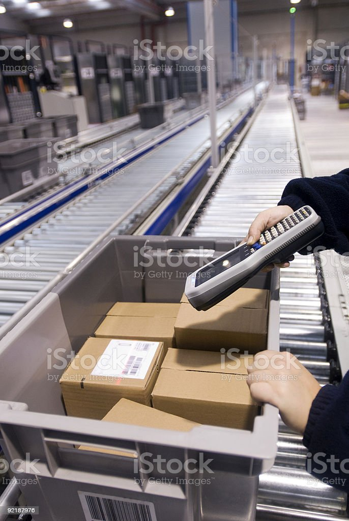 assembly line royalty-free stock photo