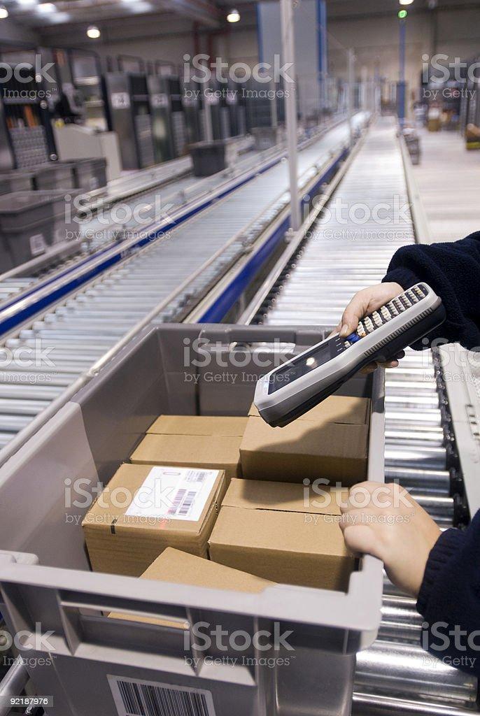 assembly line stock photo