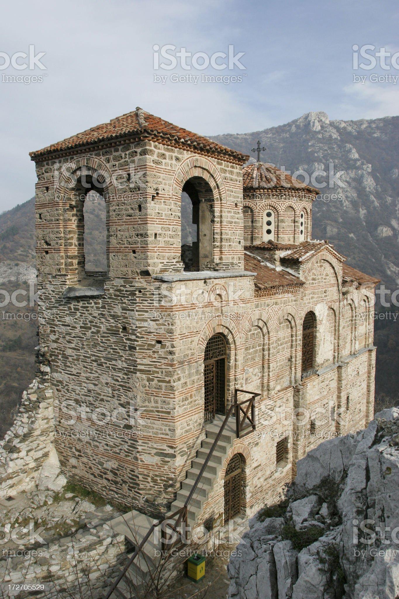 Assen Fortress: Bulgaria royalty-free stock photo