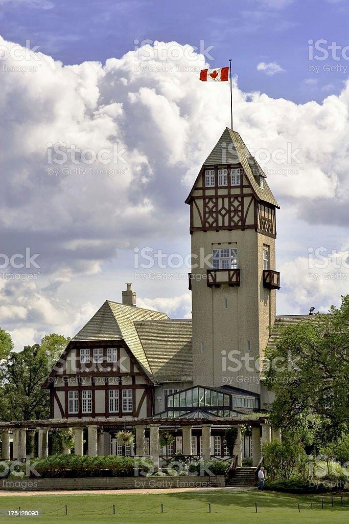 Assiniboine Park Pavilion, Winnipeg, Manitoba. royalty-free stock photo
