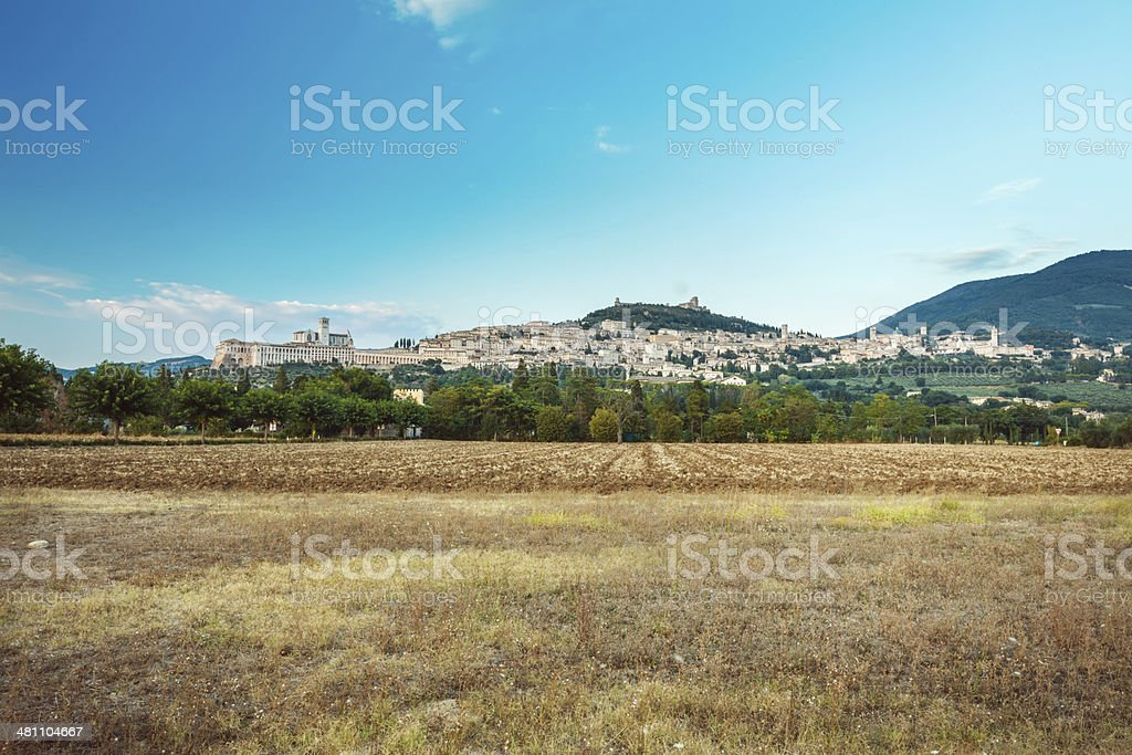 Assisi, Italy royalty-free stock photo