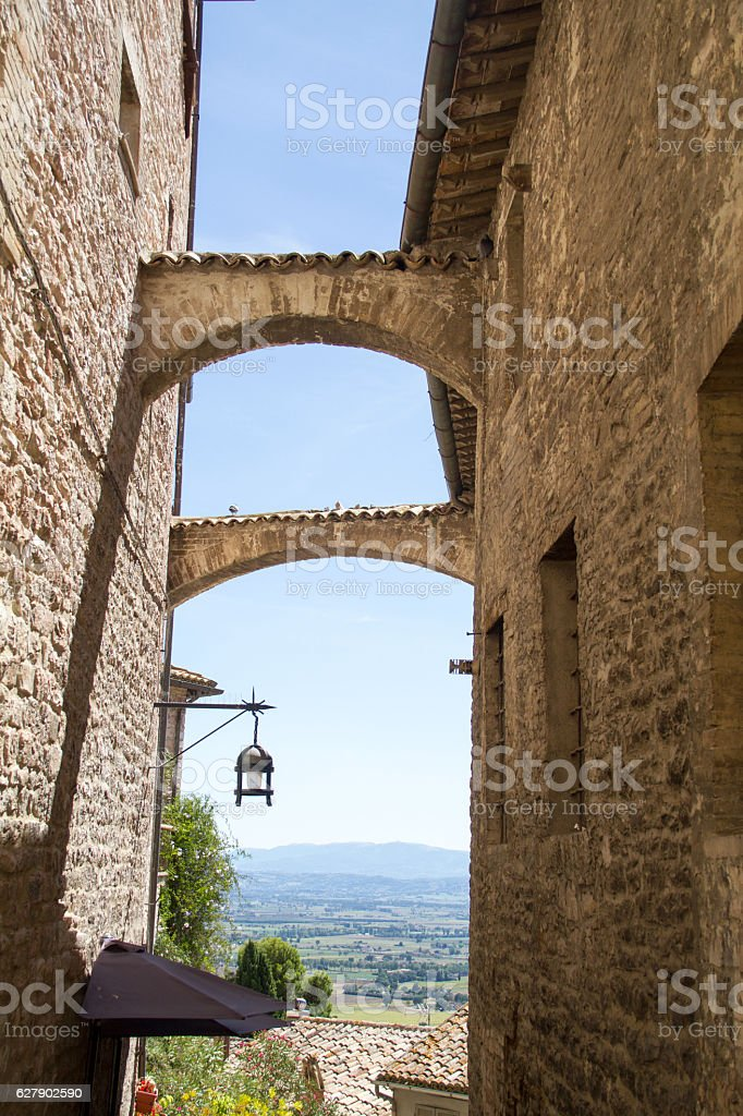 assisi stock photo