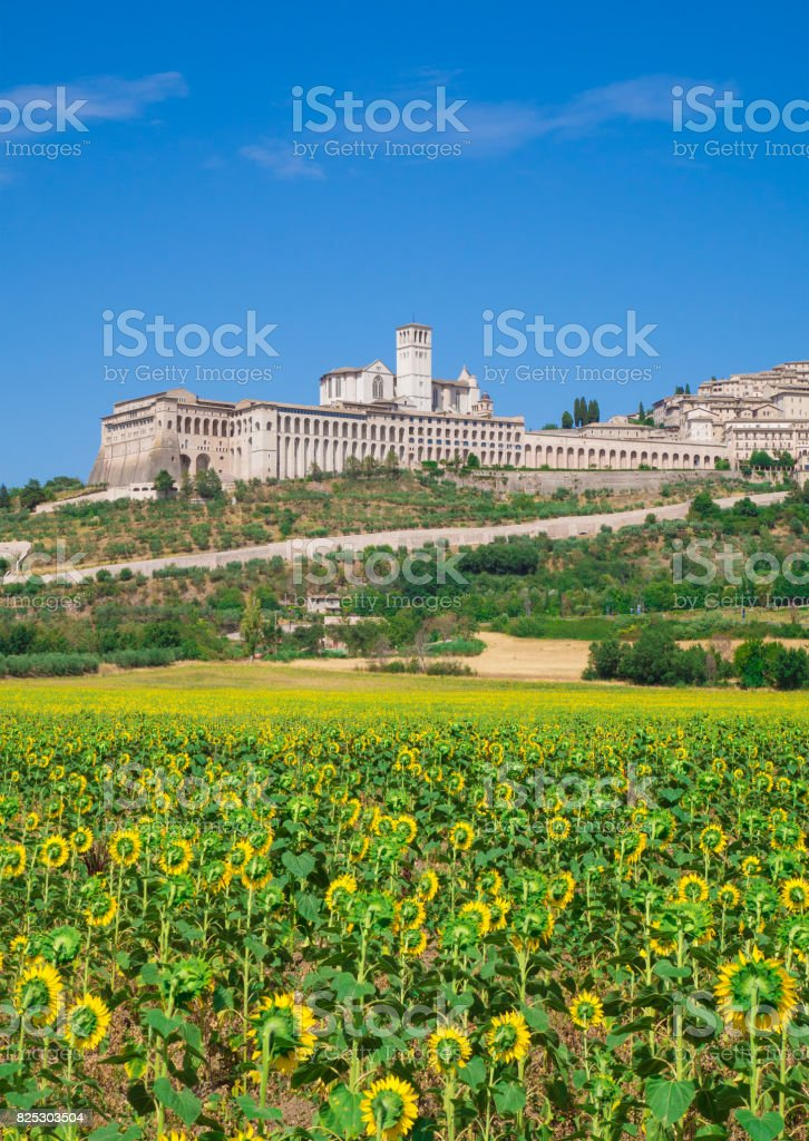Assisi, Umbria (Italy) stock photo
