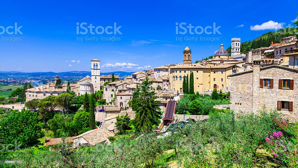 Assisi,Italy stock photo