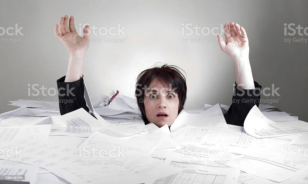assistance needed for business woman stock photo