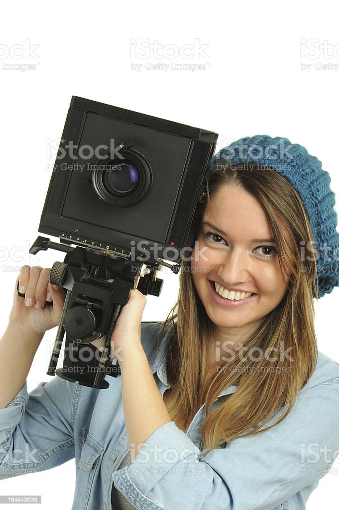 Assistant stock photo