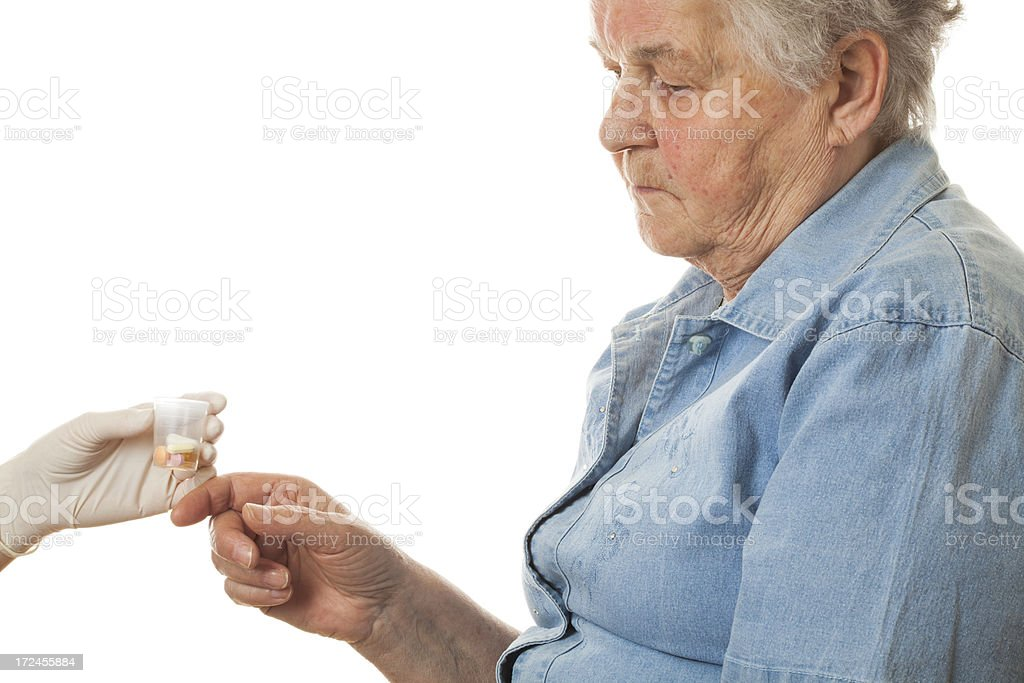 Assisted living royalty-free stock photo