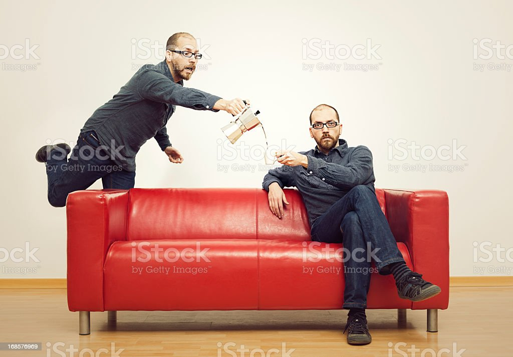 Assisting himself royalty-free stock photo