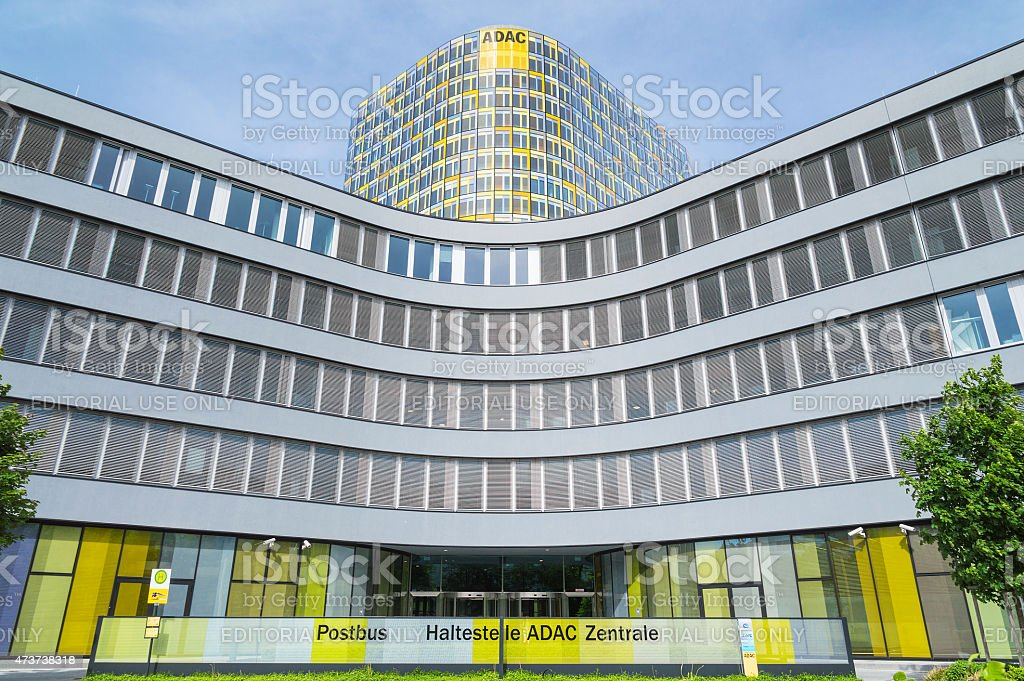 ADAC association European automobile club in Germany stock photo