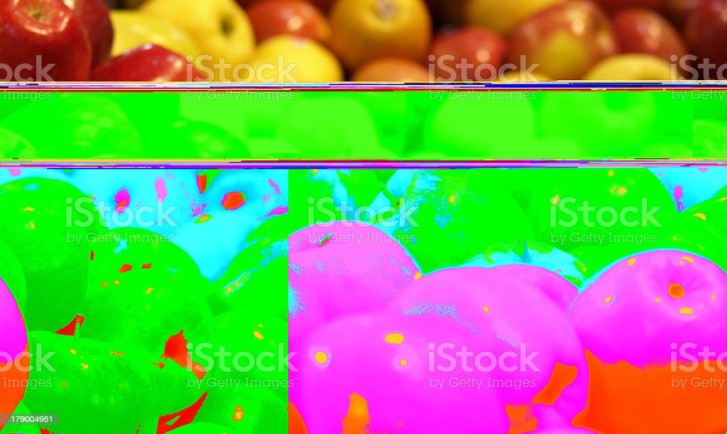 Assorted Apples stock photo