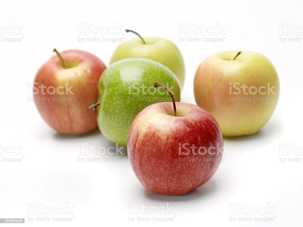 Assorted Apples royalty-free stock photo