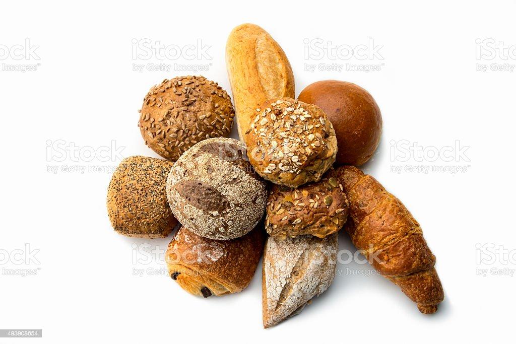 Assorted Bread stock photo