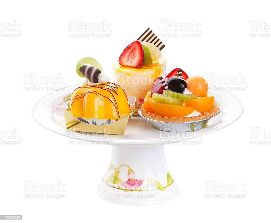 Assorted Cakes royalty-free stock photo