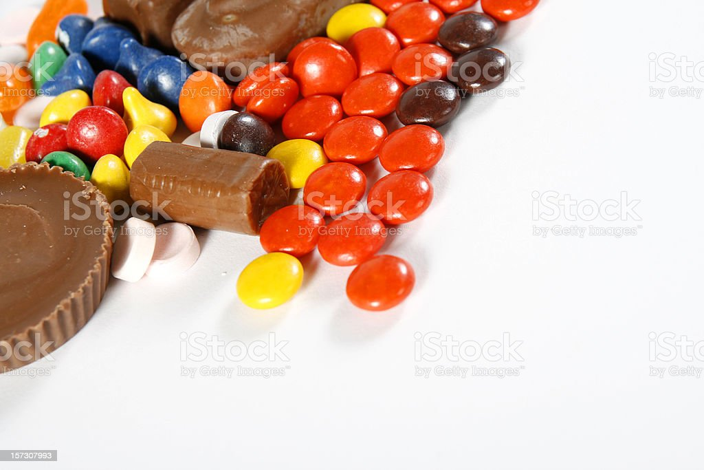 Assorted Candy Background royalty-free stock photo