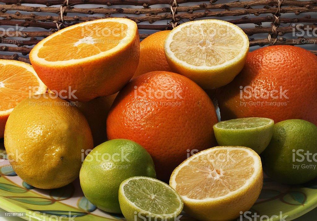 Assorted Citrus stock photo