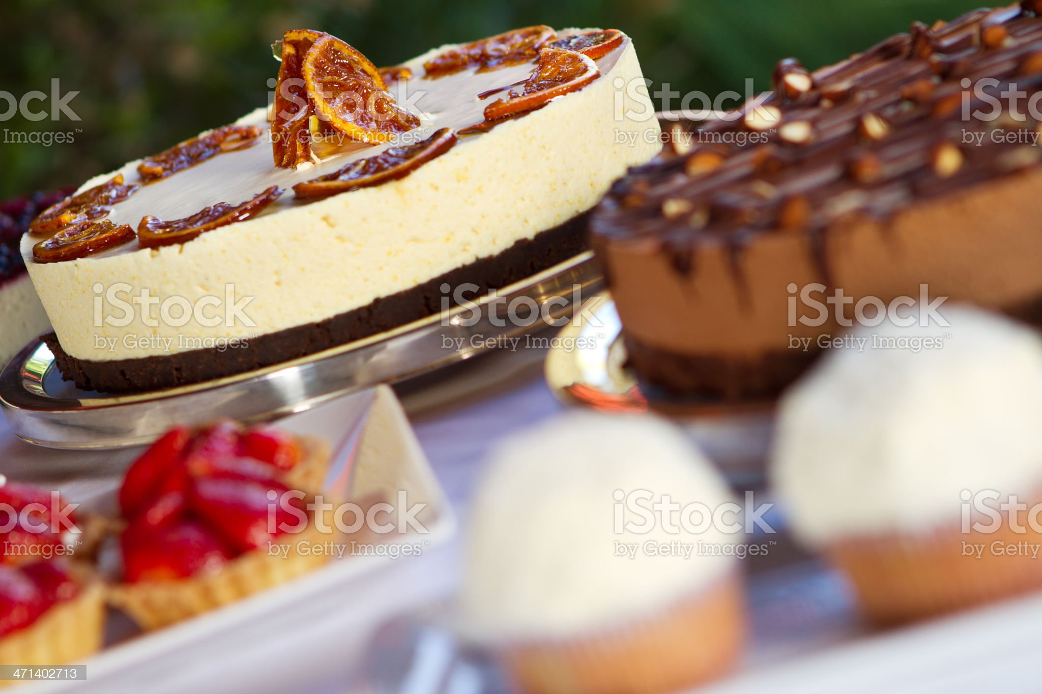 Assorted desserts royalty-free stock photo