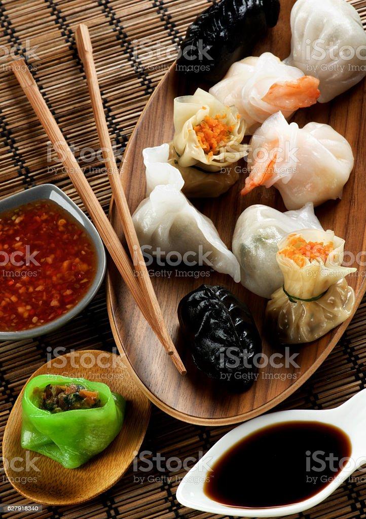 Assorted Dim Sum stock photo