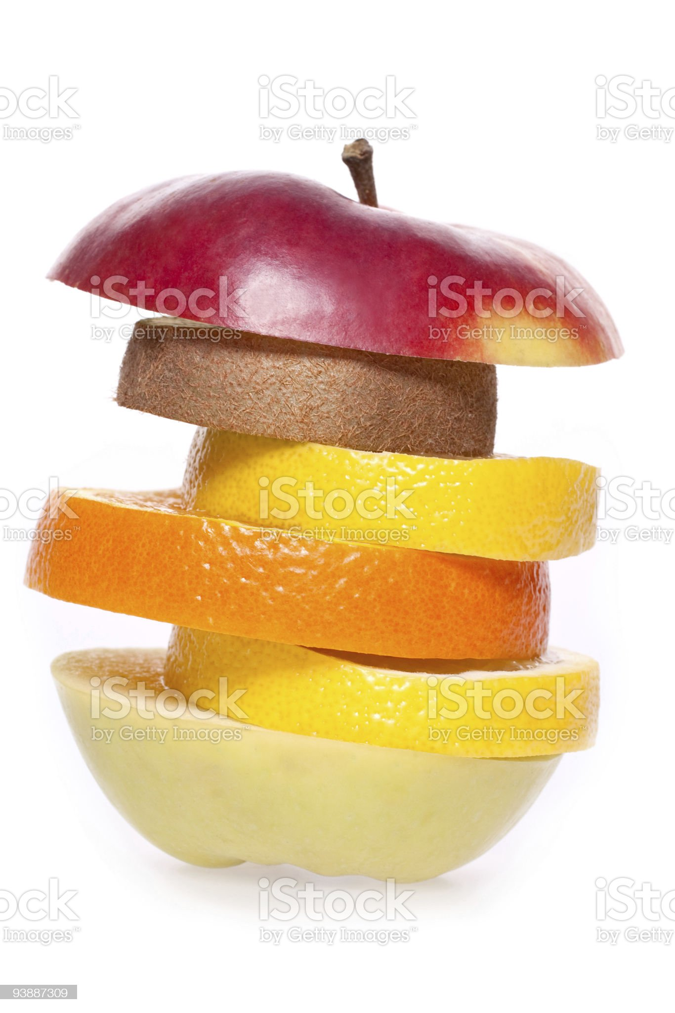 assorted fruit royalty-free stock photo