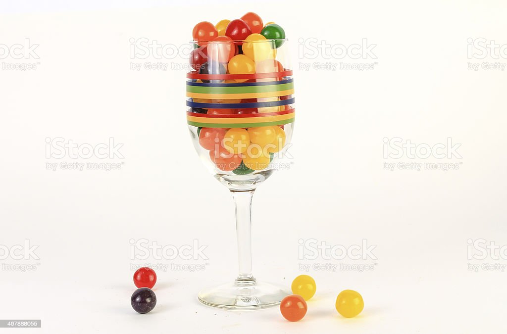 Assorted Fruit Sours stock photo