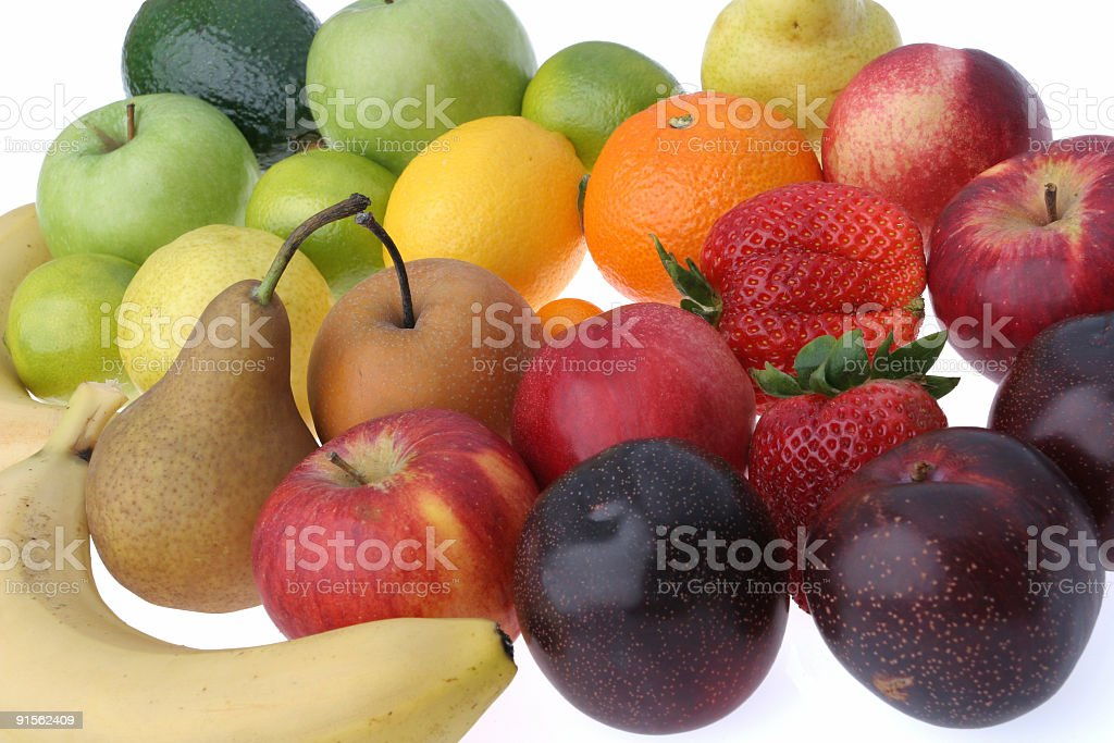 Assorted fruits royalty-free stock photo