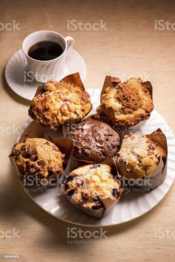 Assorted Muffins royalty-free stock photo
