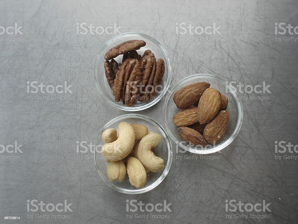 Assorted Nuts royalty-free stock photo