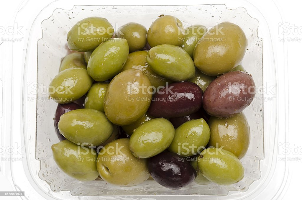 Assorted olives stock photo