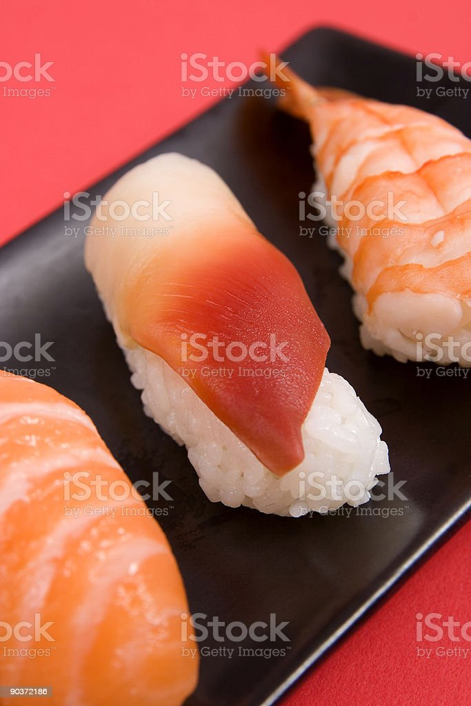 Assorted Sushi royalty-free stock photo