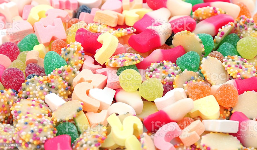 assorted sweets royalty-free stock photo