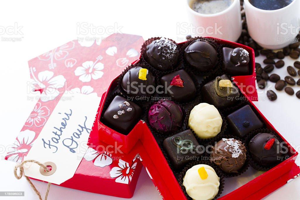 Assorted truffles royalty-free stock photo