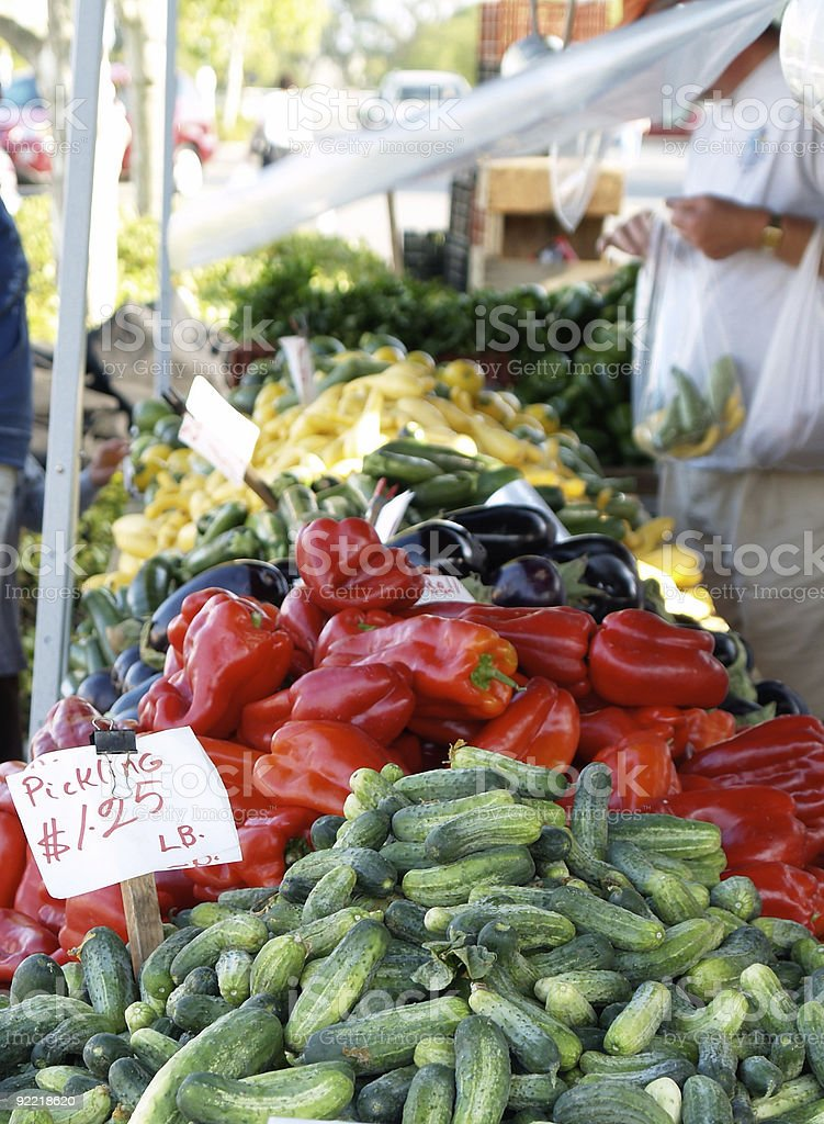 Assorted Vegetables (large) royalty-free stock photo