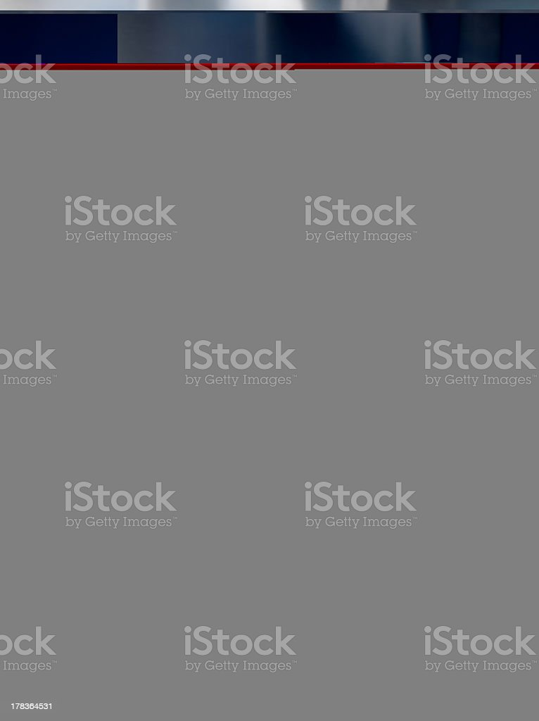 Assortment of artistic brushes in old pitcher royalty-free stock photo