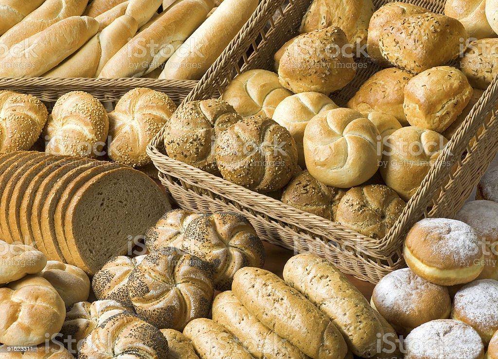 Ассортимент Пекарня товаров Стоковые фото Стоковая фотография